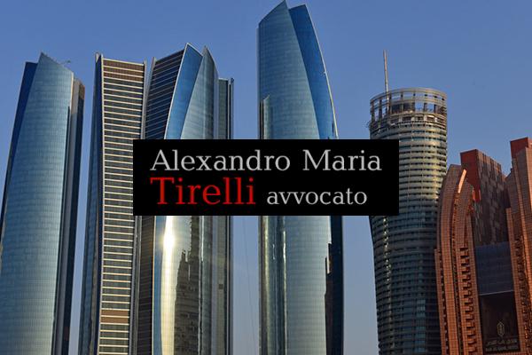 Stipulato Trattato di estradizione tra Italia e Emirati Arabi Uniti
