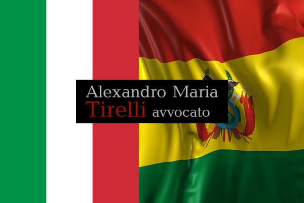 Trattato di amicizia e di estradizione tra Italia e Bolivia